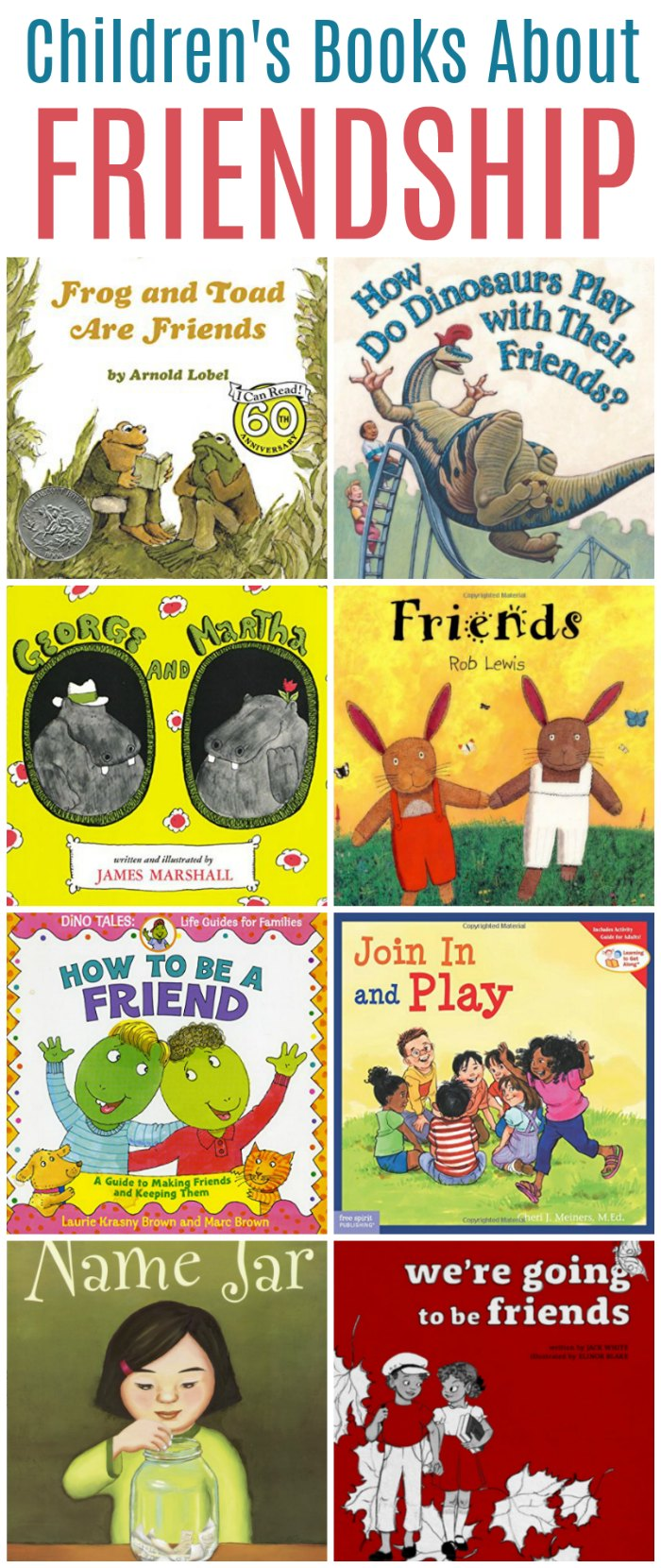 Childrens books about friendship and how to be a good friend + Friendship Unit Study | Mommy Evolution