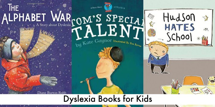 dyslexia picture books for kids