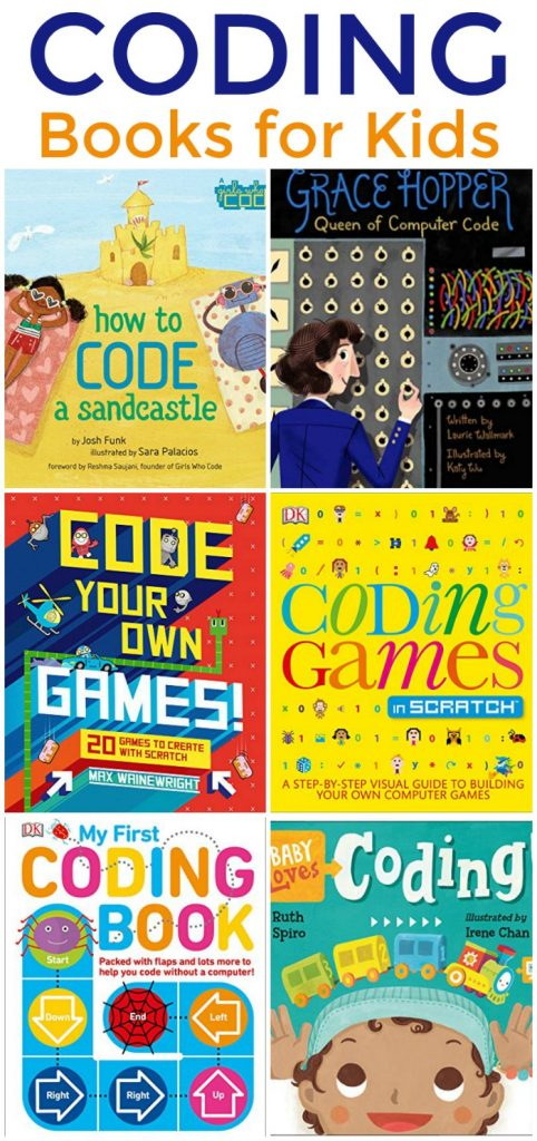 Computer Coding Boos for Kids - From introductory coding to coding picture books and even a book for toddlers! | Mommy Evolution