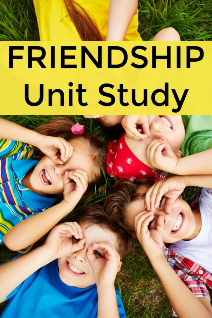 Friendship Unit Study Resources for Homeschool, Preschool and the Classroom + Children's books about friendship | Mommy Evolution