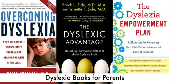 Dyslexia books for parents - reading for special needs parenting