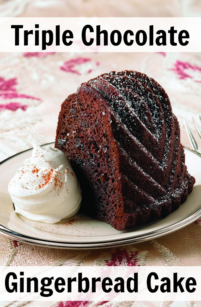 Triple Chocolate Gingerbread Cake Mix Recipe