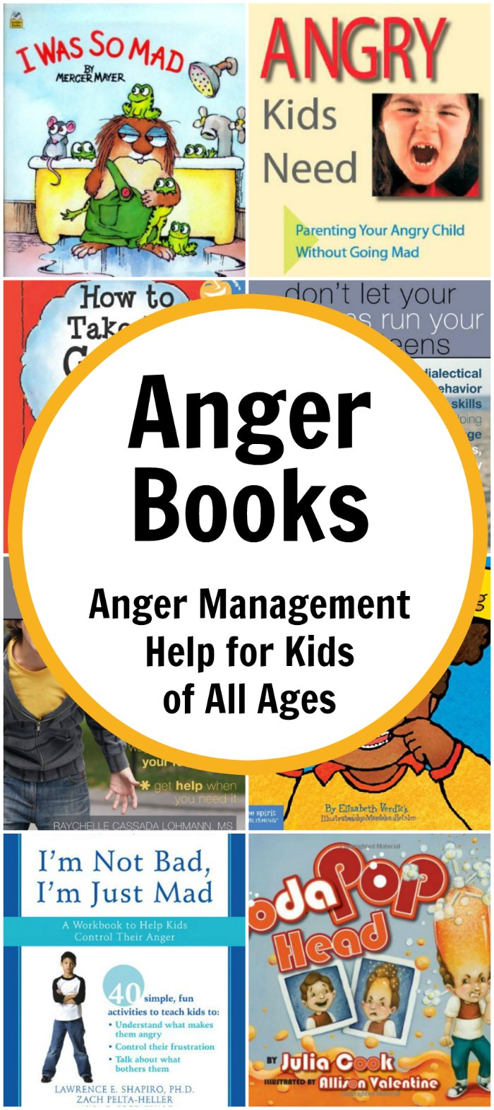 Anger Books for Kids: Anger Management Help for Kids of All Ages | Mommy Evolution