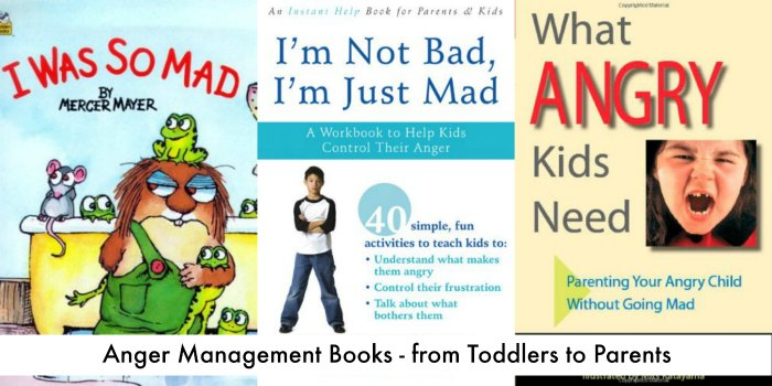 Books about Teaching Kids how to manage anger