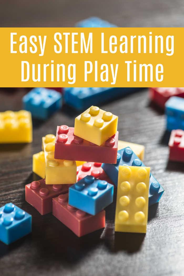 Easy STEM Learning During Play Time | Mommy Evolution #stem #steam
