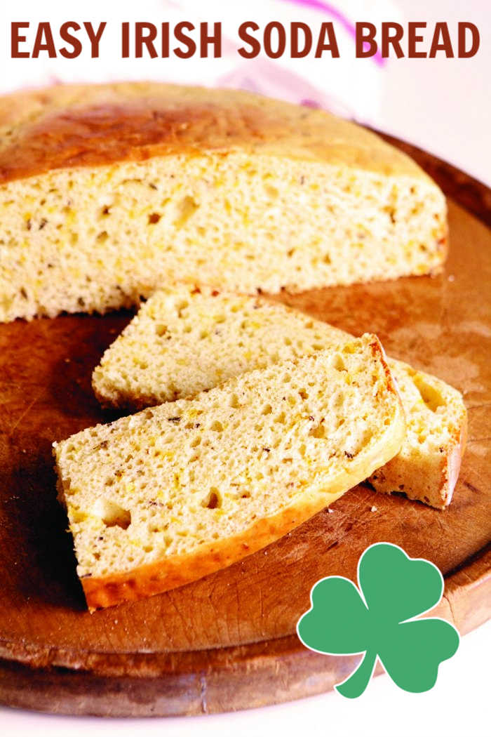 Easy Irish Soda Bread with Cheese