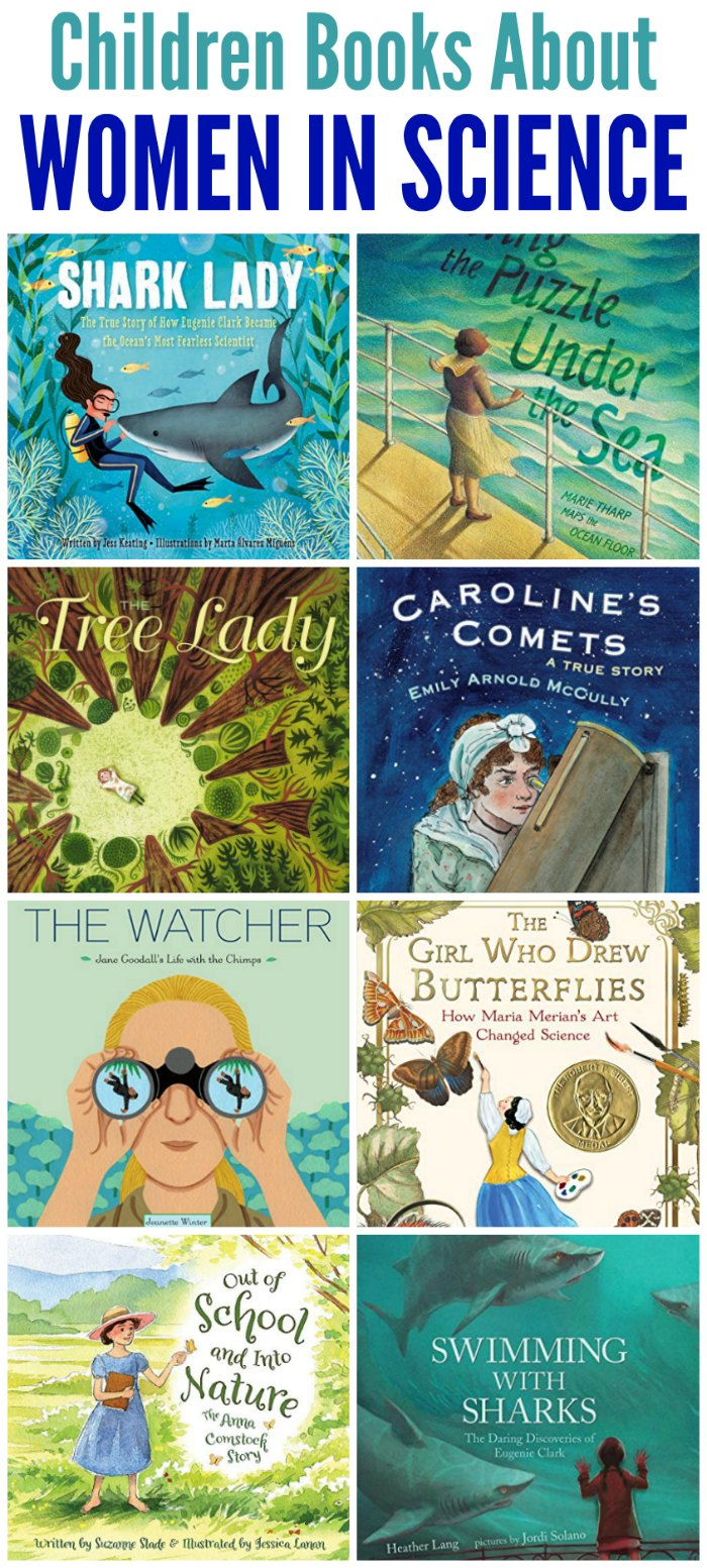 Children books about women in science | Mommy Evolution