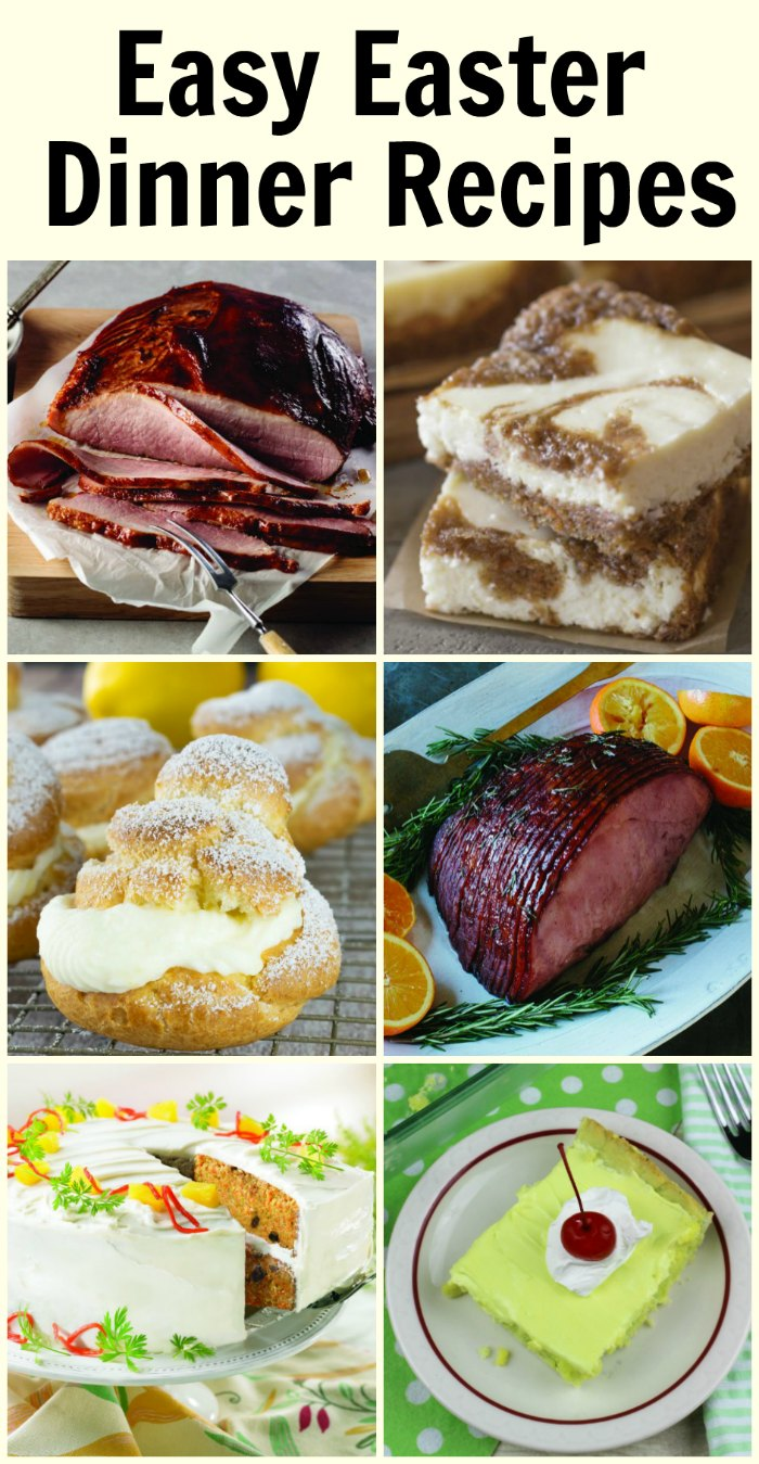 Easy Easter Dinner Recipes | Mommy Evolution