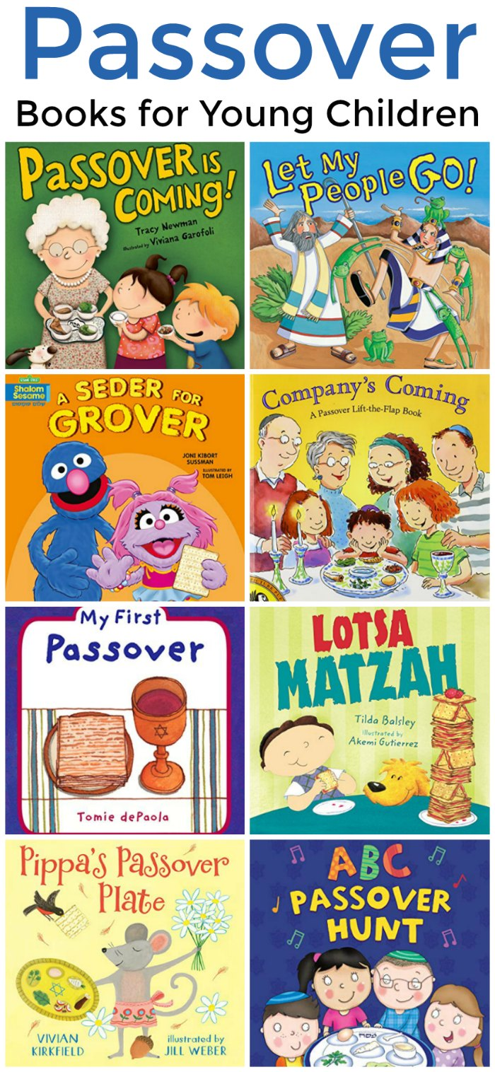 Passover Books to Read with Young Children | Mommy Evolution