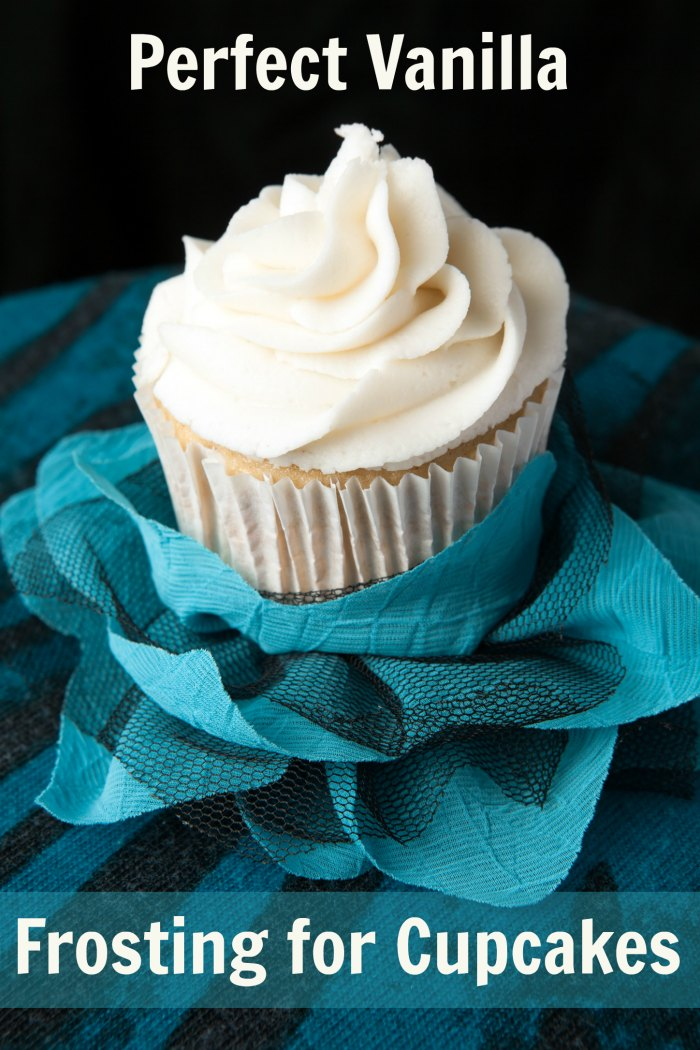 Perfect Vanilla Frosting for Cupcakes Recipe | Mommy Evolution #cupcakefrosting #vanillafrosting