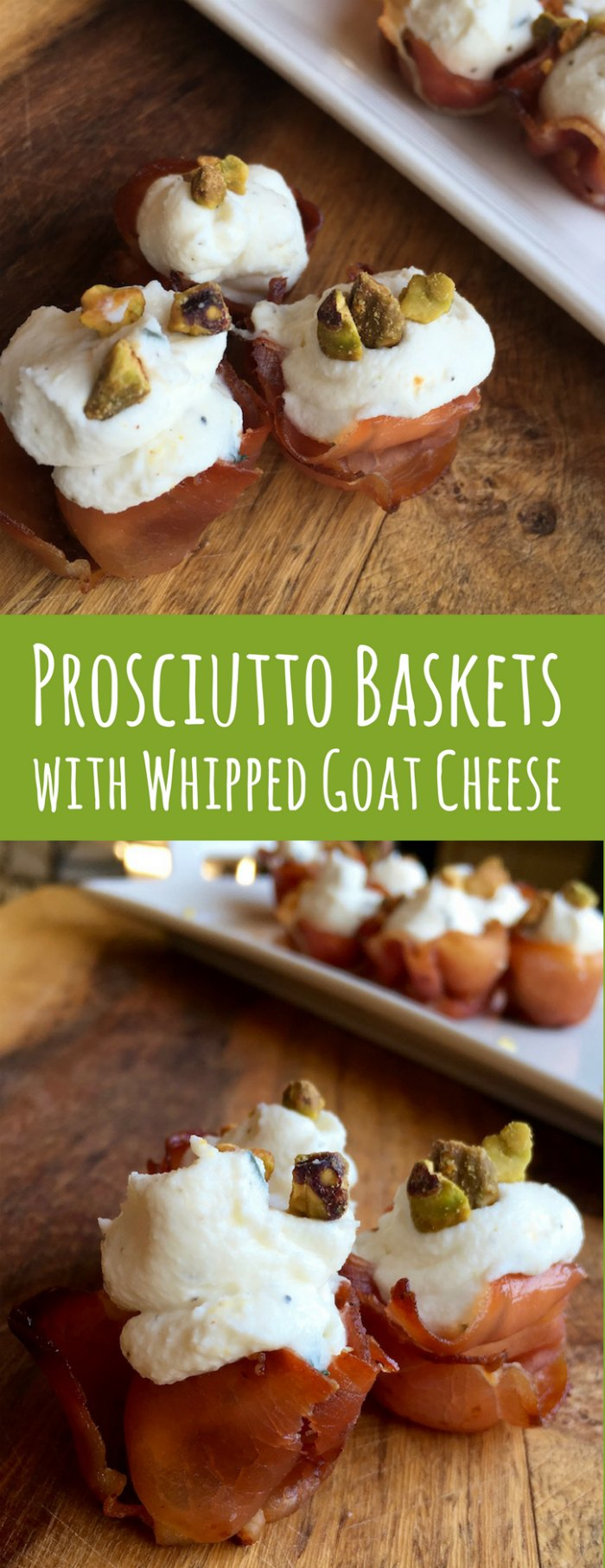 Prosciutto Appetizers with Whipped Goat Cheese Filling | Mommy Evolution