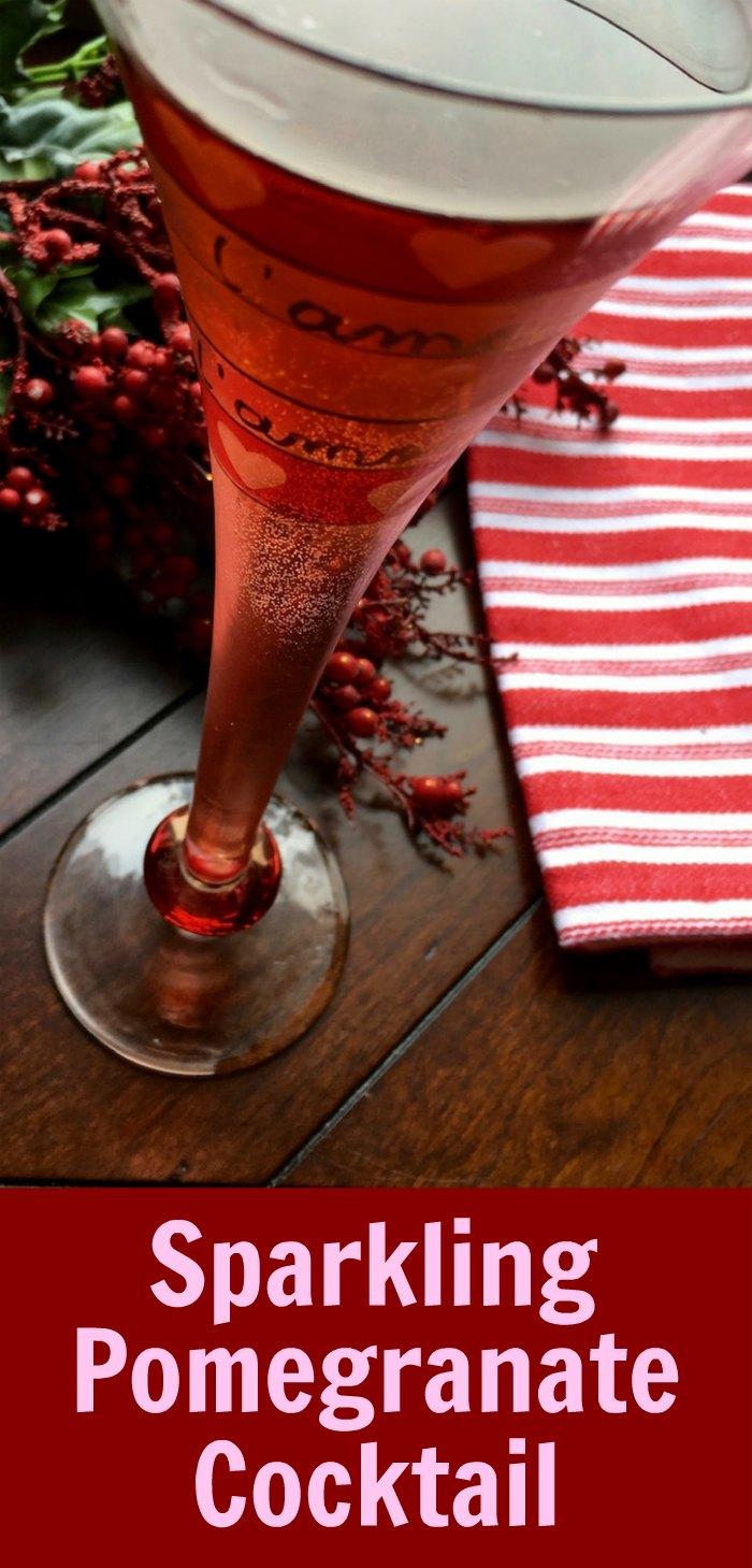 Sparkling Vodka Pomegranate Cocktail | Mommy Evolution