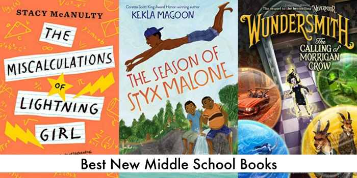 best new middle school books