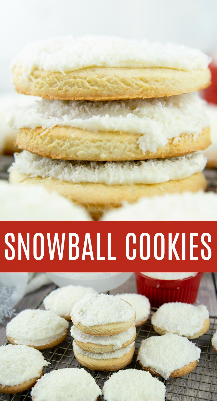Snowball Cookie Recipe - Cookies with Coconut | Mommy Evolution
