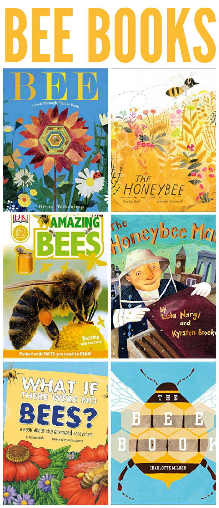 Books about Bees for Kids + Bee Unit Study Resources | Mommy Evolution