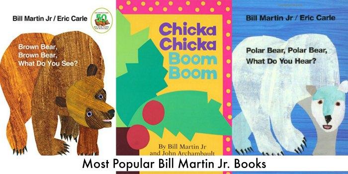 most popular bill martin jr books