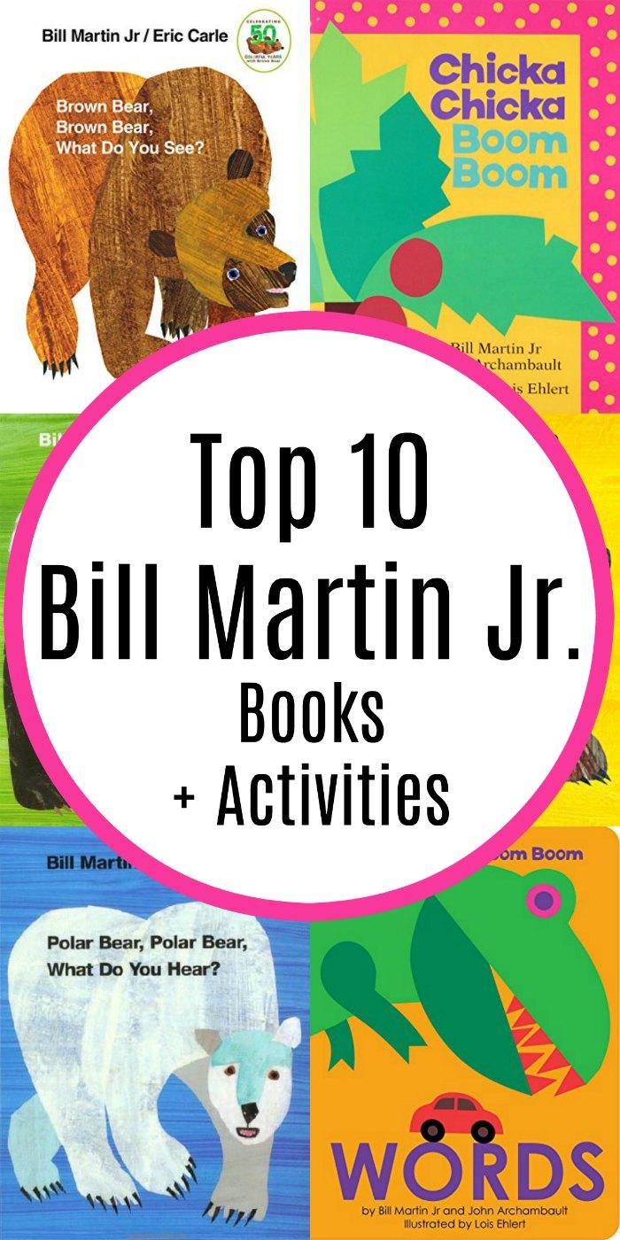 Top 10 Most Popular Bill Martin Jr Books + Activities | Mommy Evolution #reading #boardbooks