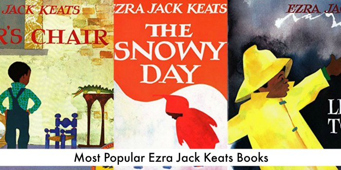10 Most Popular Ezra Jack Keats Books + Activities
