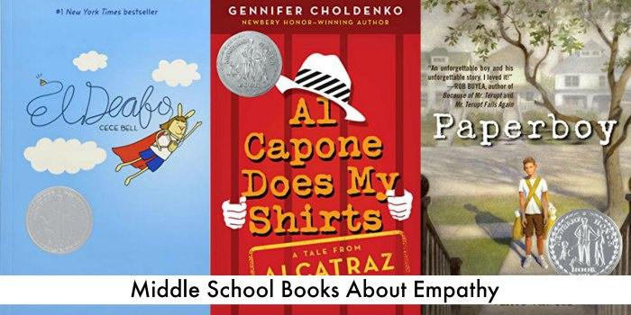 Middle School Books about Empathy