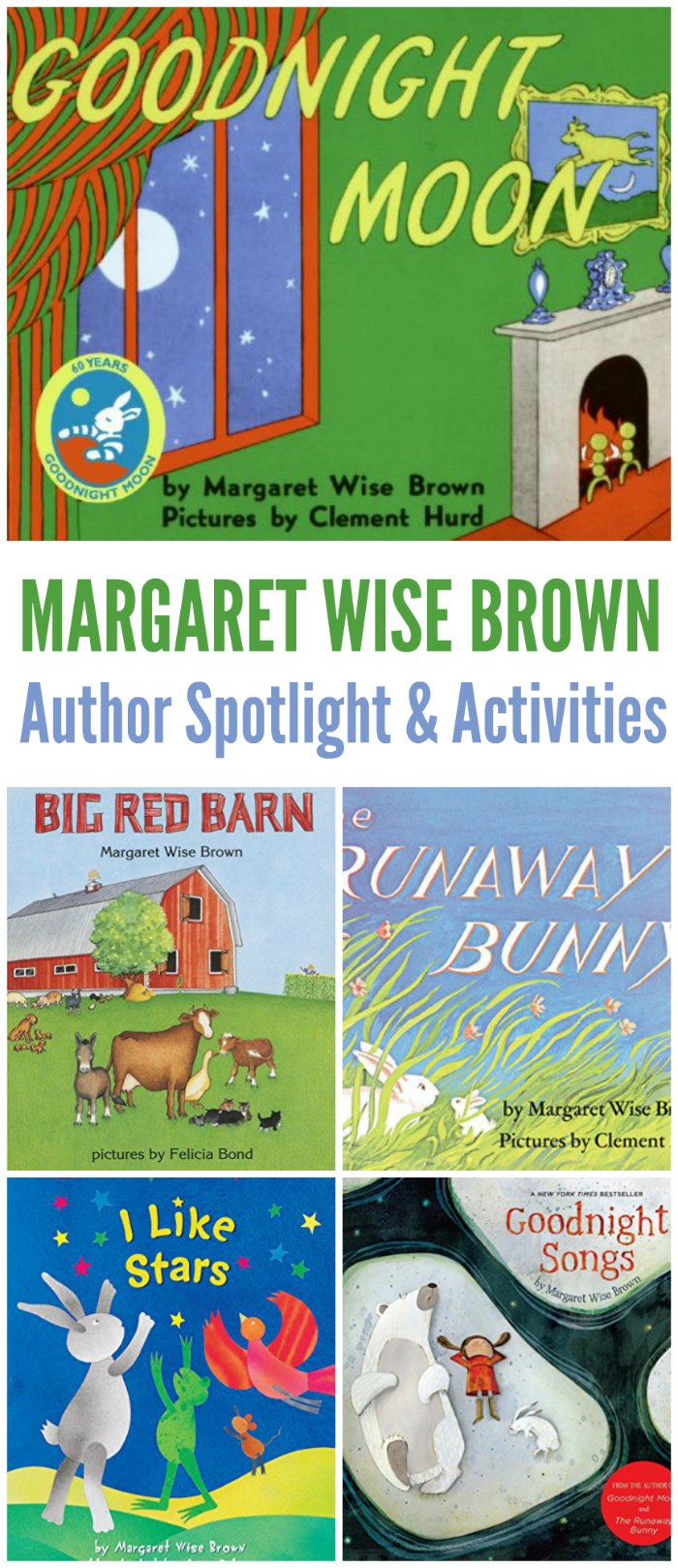 Margaret Wise Brown books! - Author Spotlight and Activities | Mommy Evolution