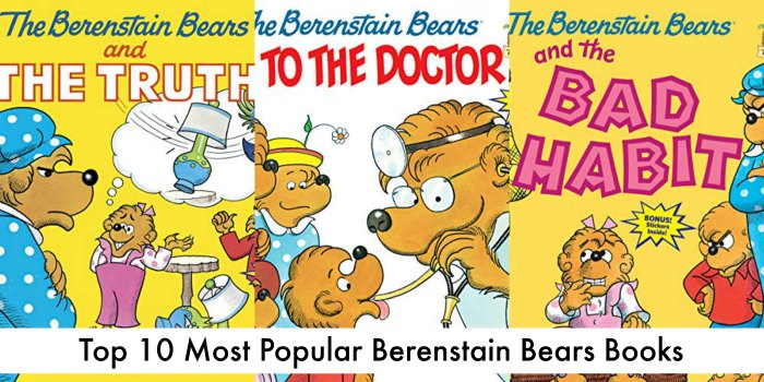 most popular berenstain bears books