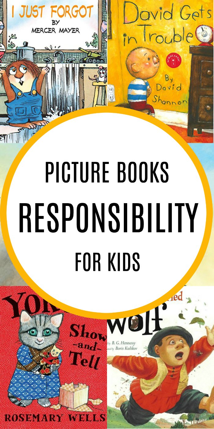 Childrens Books about Responsibility for Kids | MOMMY EVOLUTION #parenting #reading