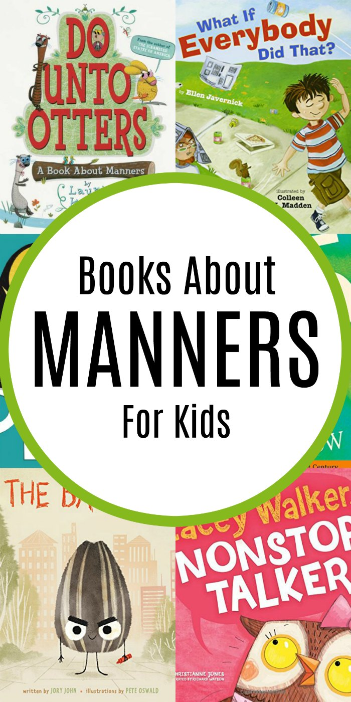 Children's Picture Books About Manners | Manners #reading