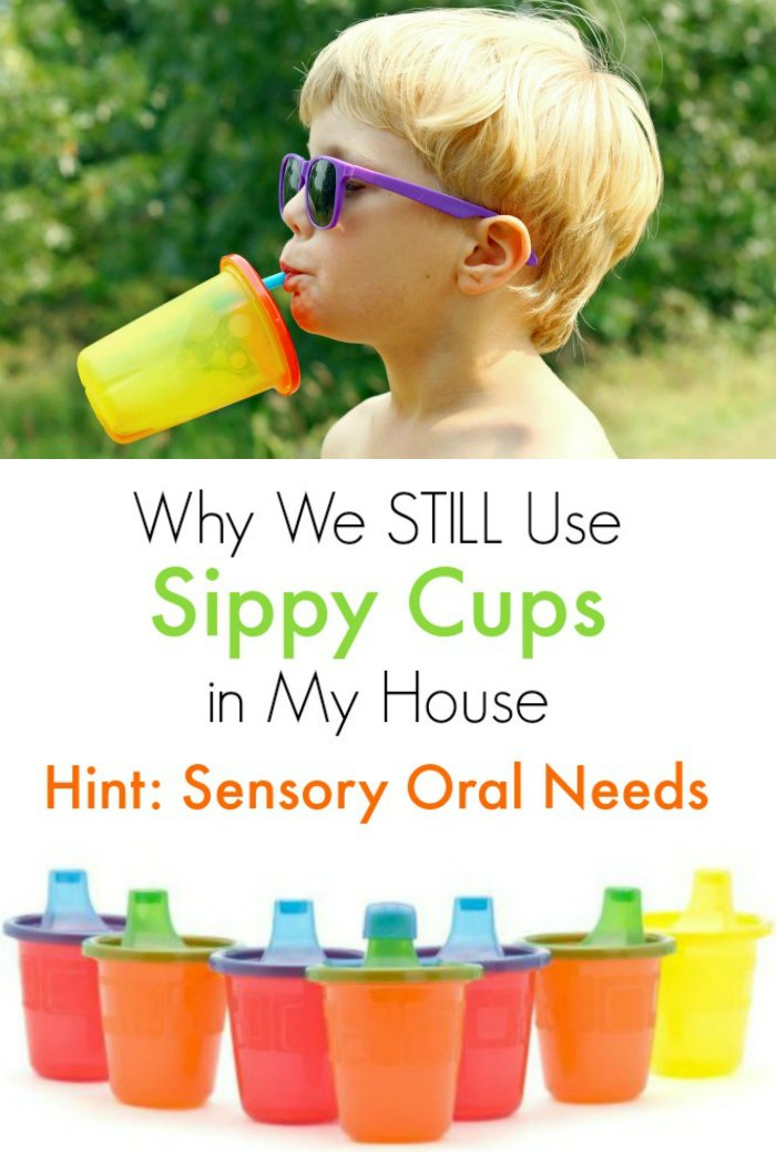 Sensory Oral Needs: We Still Use Sippy Cups | Mommy Evolution