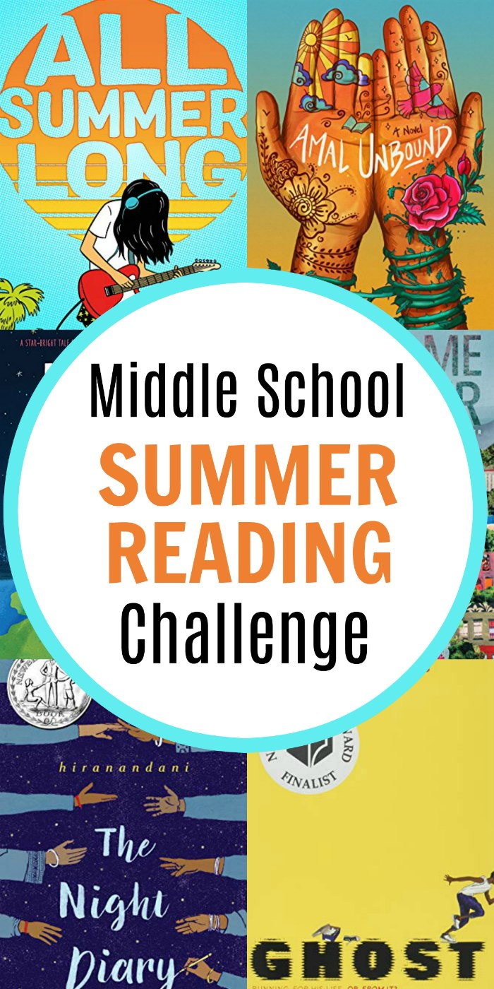 I have two middle schoolers in my house this summer! And I feel the need to create a summer reading challenge for these boys! | Mommy Evolution