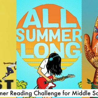 books for middle school readers for the summer