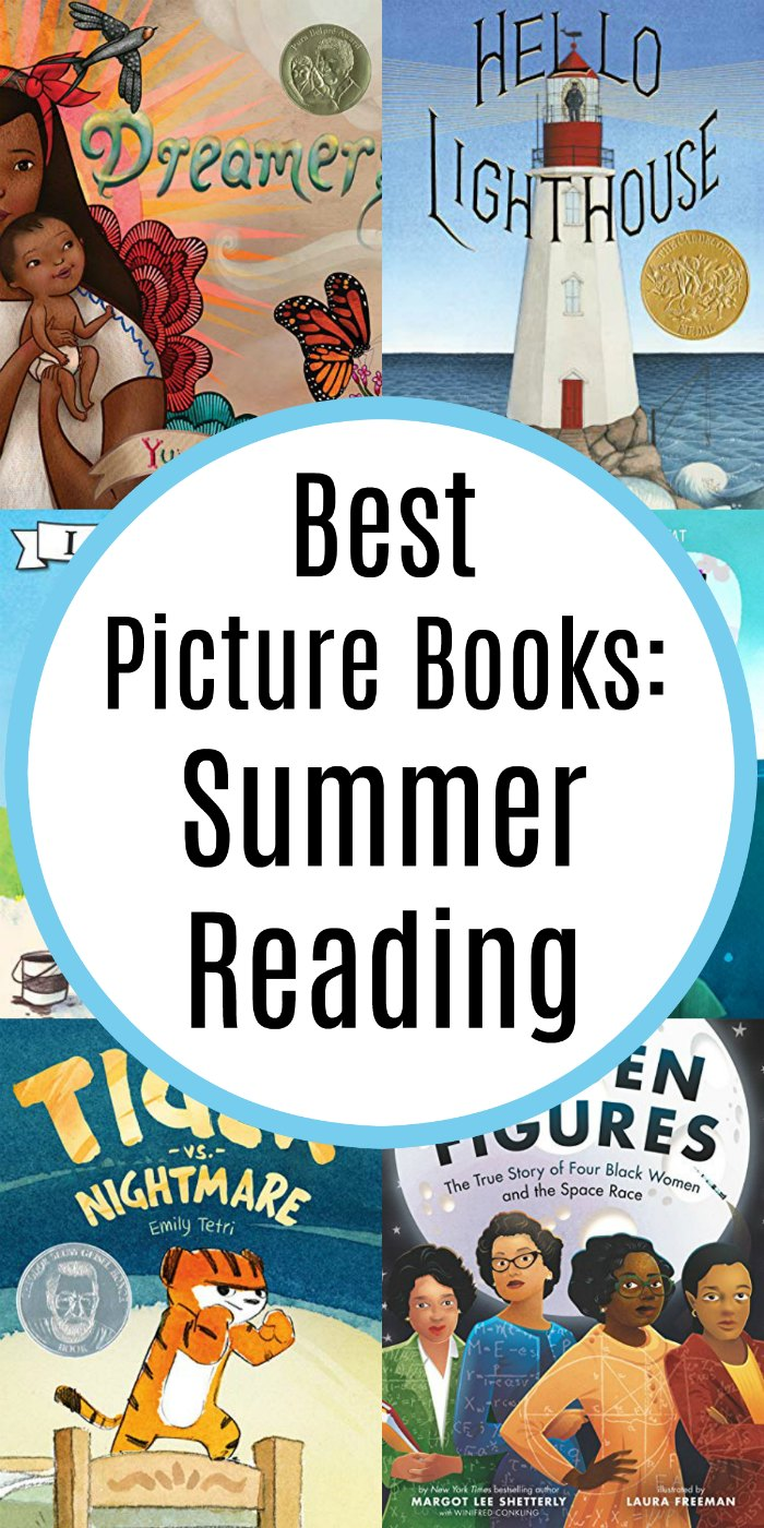 Looking for the best summer reads for your elementary children? Look no further! | Mommy Evolution #picturebooks #kidlit #books