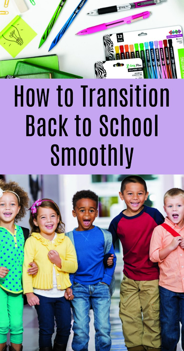 Set the Stage for School Success! How to Transition Back to School Smoothly | Mommy Evolution