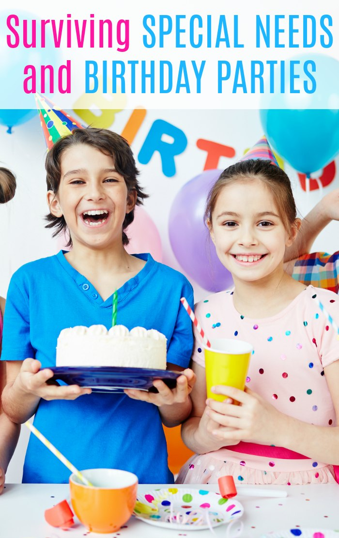 SPD, Special Needs and Birthday Parties - Surviving special needs and birthday parties | Mommy Evolution