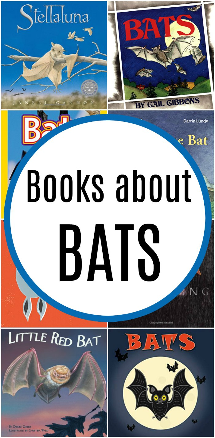 Bat Books for Kids + Unit Study Resources and Bat Crafts - We love books about bats almost as much as we love bats! | Mommy Evolution