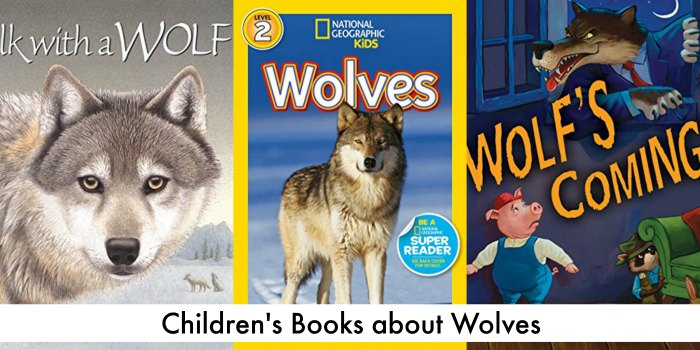 Books about Wolves for Children