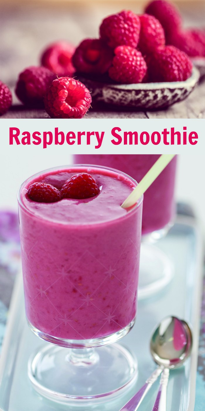 Healthy Tropical Raspberry Smoothie Recipe | Mommy Evolution