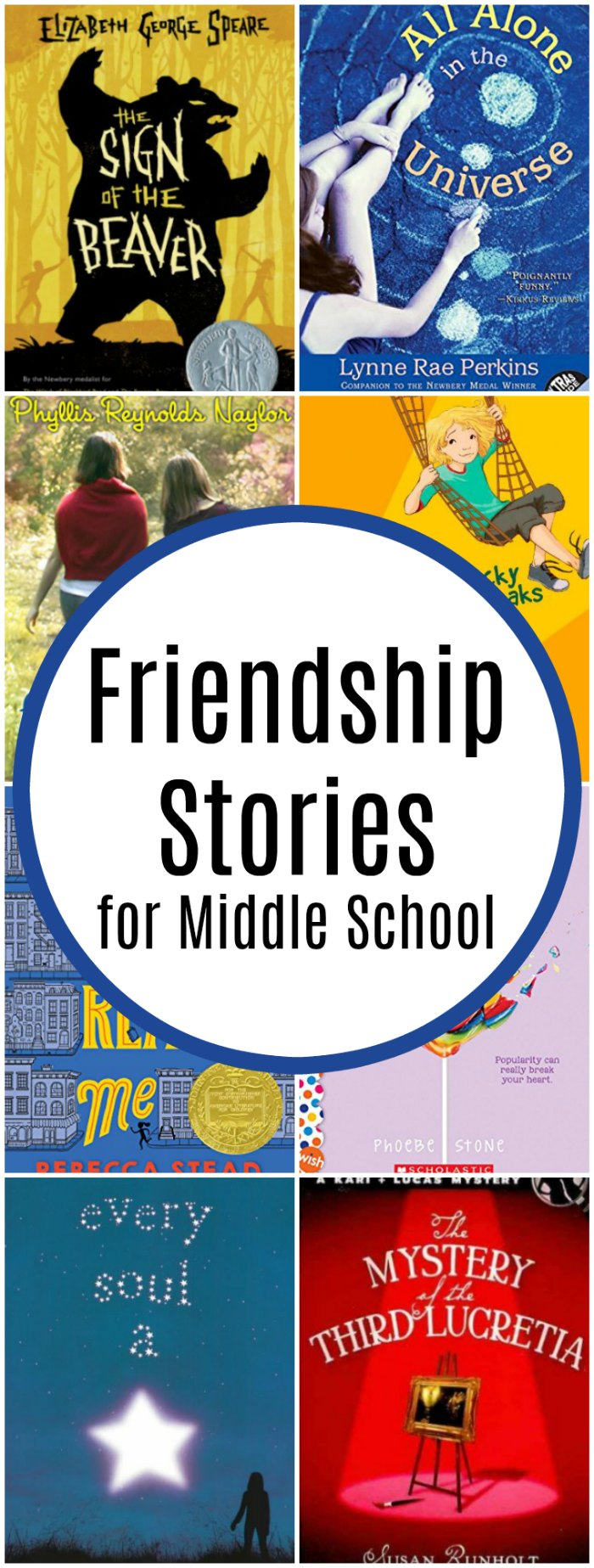 More Friendship Stories and Books about Friendship for Middle Schoolers | Mommy Evolution