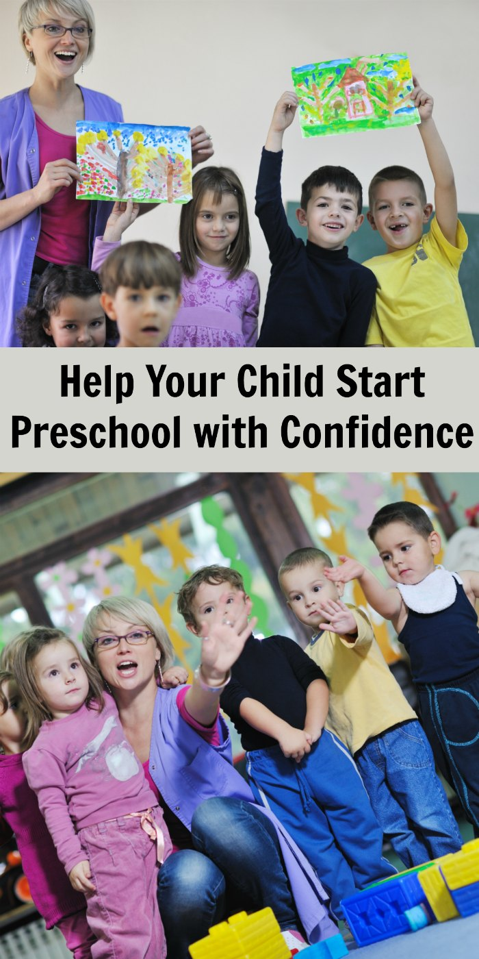 Starting a Preschool with Confidence - help your child transition smoothly into preschool or kindergarten | Mommy Evolution