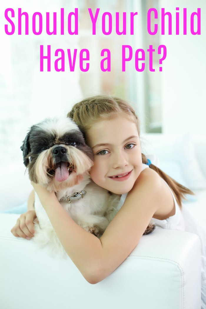 Should Your Child Have a Pet? | Mommy Evolution