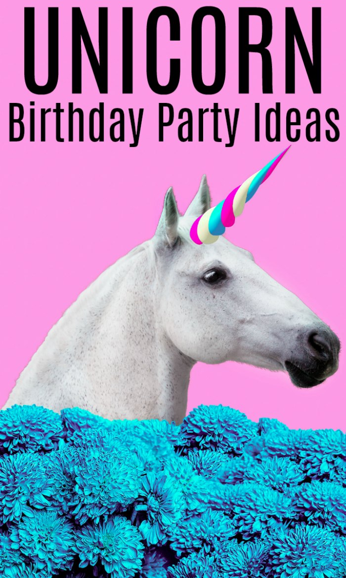 Unicorn Birthday Party Ideas and Birthday Supplies