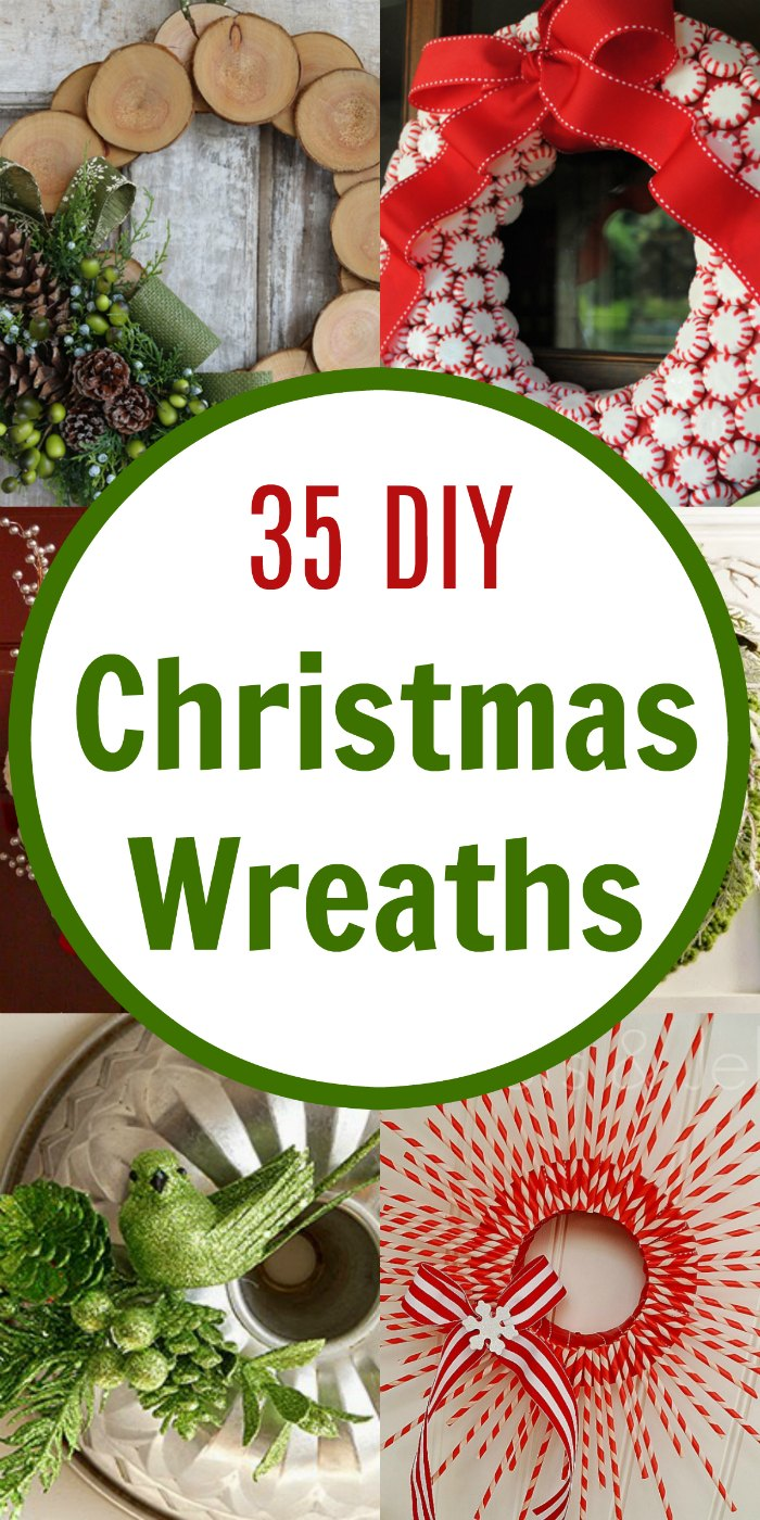 35 DIY Inspiring Unique Christmas Wreaths | Mommy Evolution
