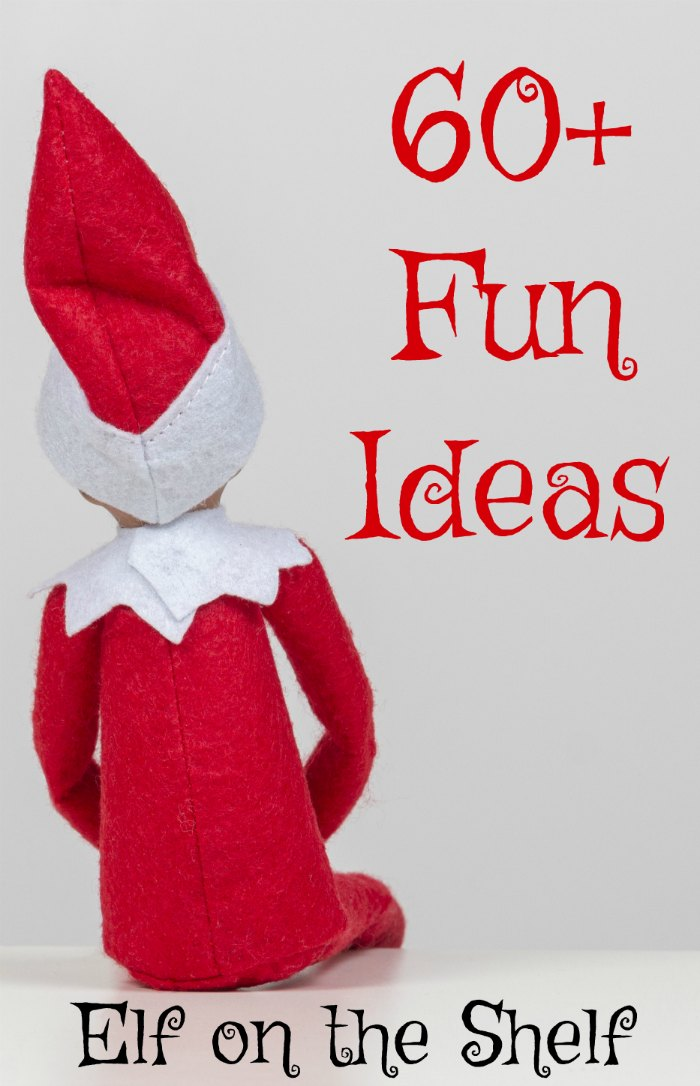 60+ Funny and Fun Elf on the Shelf Ideas | Mommy Evolution #elfontheshelfideas #elfontheshelf