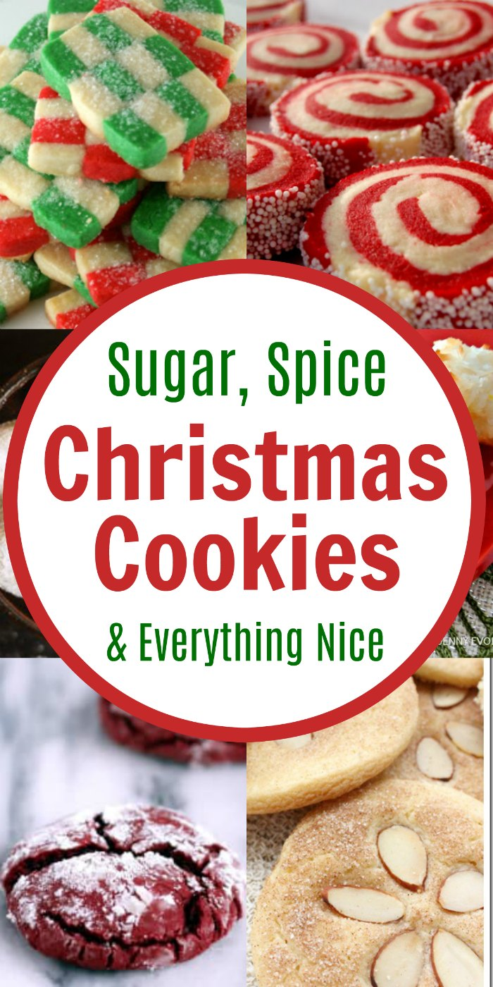 Christmas Sugar Cookie Recipe - Sugar, Spice and Everything Nice Cookie Round-Up | Mommy Evolution