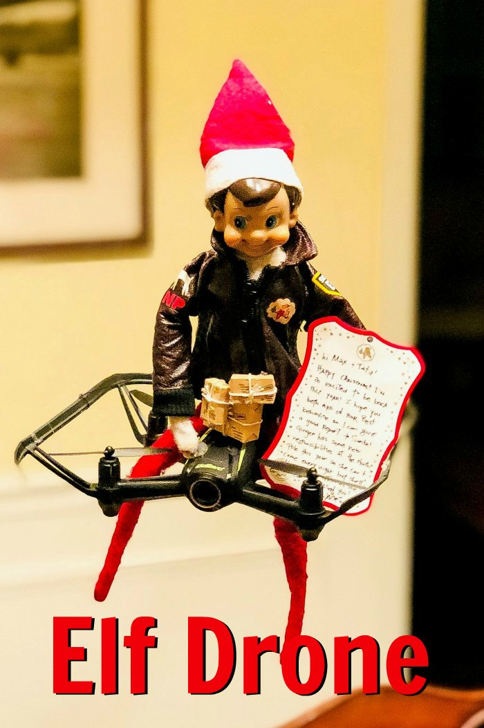 Elf Drone | Mommy Evolution #elfontheshelfideas #elfontheshelf