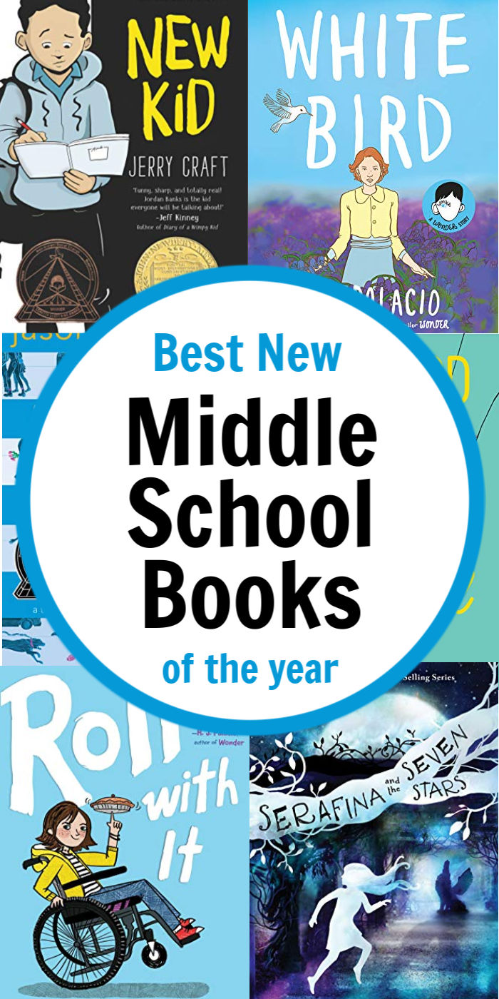 Top Middle School Books of the Year - best new books for tweens! | Mommy Evolution