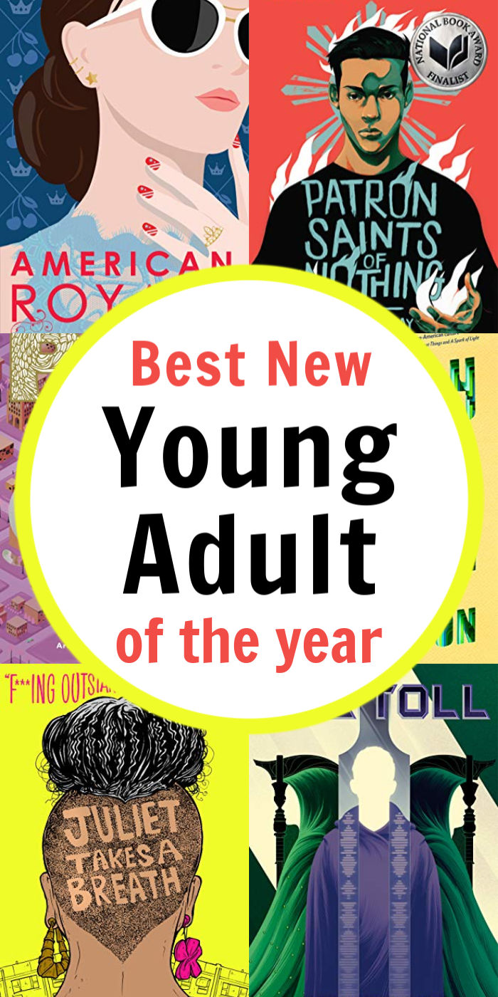 Top Teen Books of the Year  - Best New Young Adult | Mommy Evolution