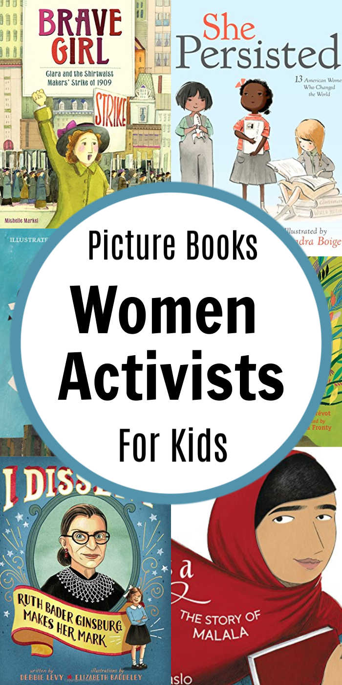 Children's Books about Women Activists | Mommy Evolution