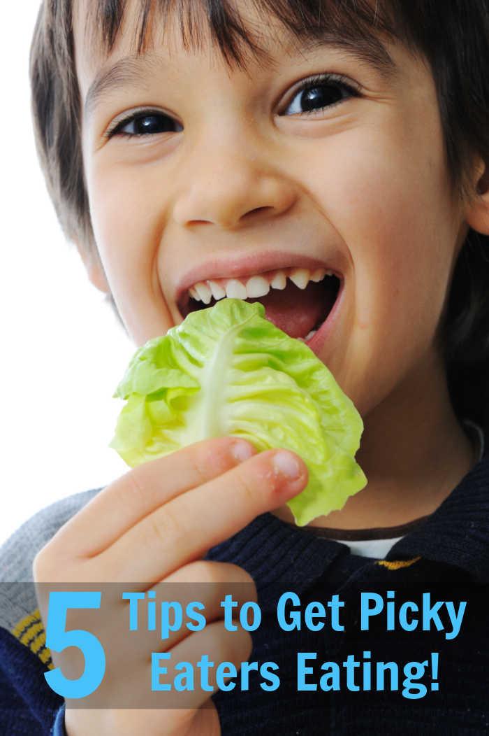 5 Tips to Encourage Picky Eaters