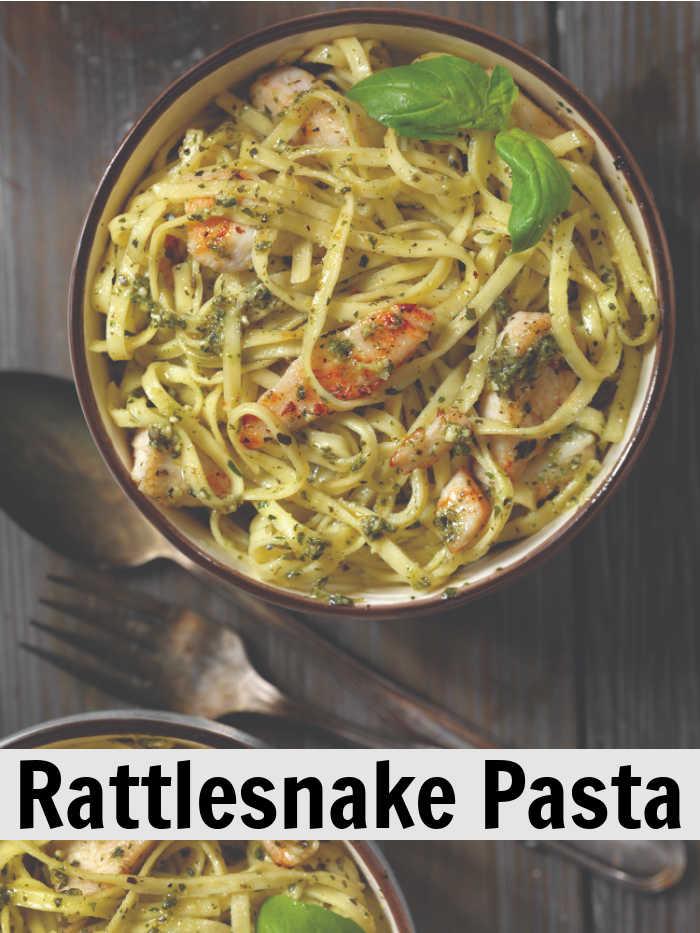 Rattlesnake Pasta with Linguine